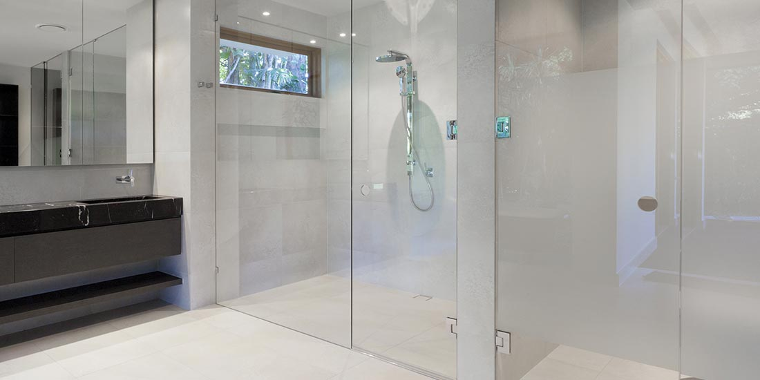 New Home Glass specializes in frameless shower doors with fine lines and  flawless clear glass  The framed shower can have the same finish as other  fixtures. Frameless Shower Door Enclosures Custom Glass Company Las Vegas